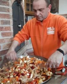 Csirkecombos paellat 3-4 percenként érdemes megkavarni